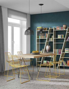 Multis Tisch 180cm - Eiche/schwarz