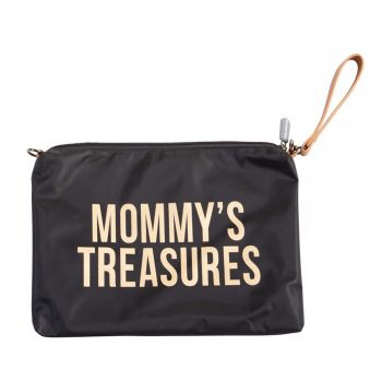 Mommy Clutch Schwarz/Gold