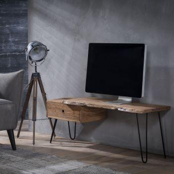 TV Möbel edge 2+3 Dick - Massiv acacia naturel