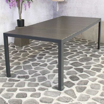 Jersey Table  220 x100 cm Antracite