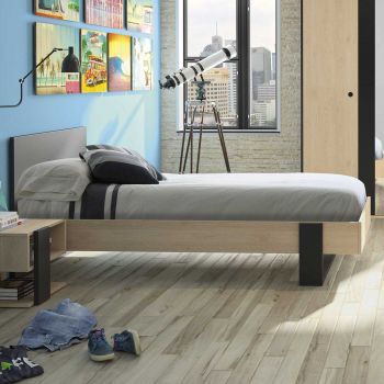 Einzelbett Dean 90x190