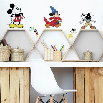 Wandaufkleber Mickey Mouse Original 90 Jahre Jubiläum
