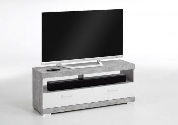 BRISTOL 5 - TV/Hifi Lowboard - Beton LA/high_gloss