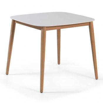Gartentisch Helsinki 90x90 - weiß