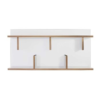 Basler Wandgestell - weiß/Multiplex