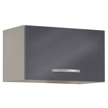Hängeschrank Löffel 35 cm - glänzend grau