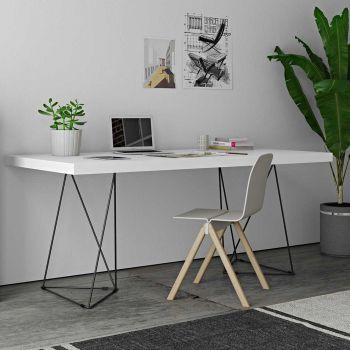 Multis-Tisch - weiß/schwarz