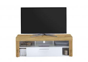 VIBIO 1 - TV/Hifi Lowboard bestehend aus 2 Colli - Artisan Oak Nb/weiß