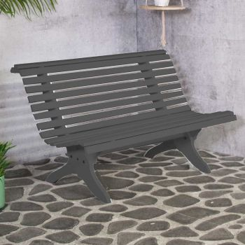 Bompa bench grey, FSC 100%