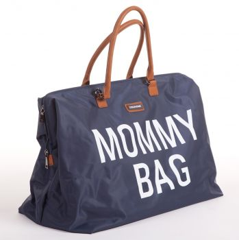 Wickeltasche Mami-Tasche - marineblau