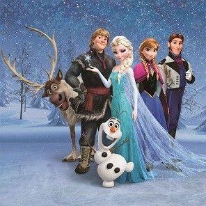 Leinwandbild Disney's Die Eiskönigin