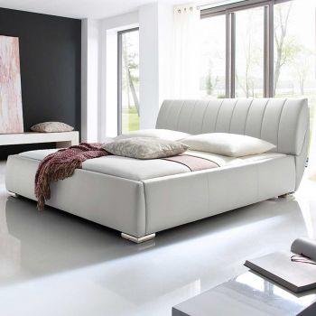 Gestoffeerd bed Bern - 180x200 cm - Wit