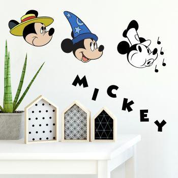 Wandaufkleber Mickey Mouse Classic 90 Jahre Jubiläum