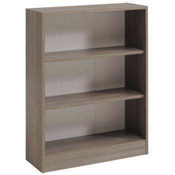 Bücherregal Sophia, Walnuss-Braun - Niedrig, breit