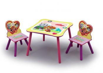 Kindertisch mit Stühlen Paw Patrol Skye