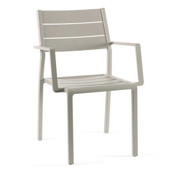 Gucci stacking chair full alu ivory