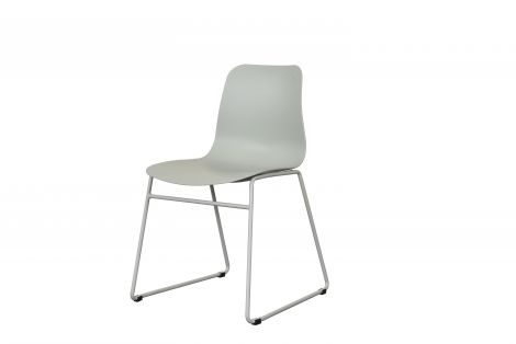2er-Set Stühle Marie - grau-grün