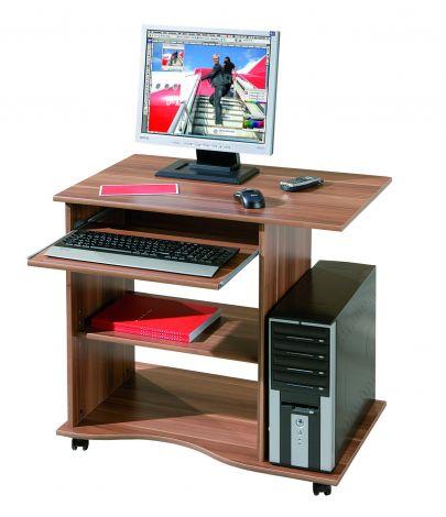 Computertisch Adda - Nussbaum