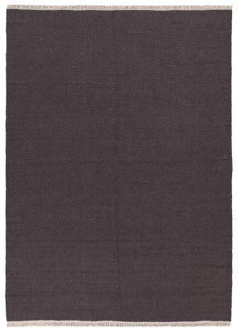 Teppich Ubique 140x70 gewebt - Anthrazit