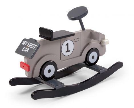 Schaukelstuhl Auto - grau