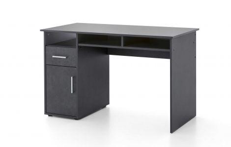 Schreibtisch Maxi-office 125cm - graphit
