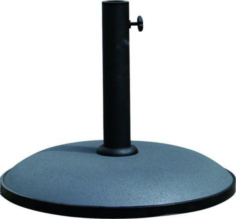 Runder Sonnenschirmfuß aus Beton - 25 kg