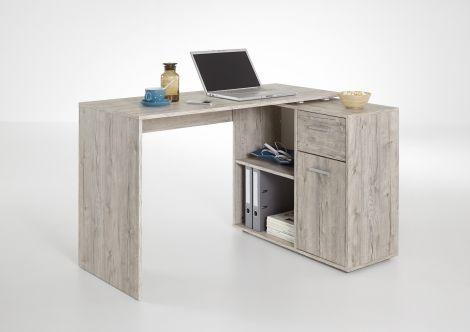 Schreibtisch Albrecht - Graue Eiche