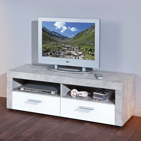 TV Lowboard Beton