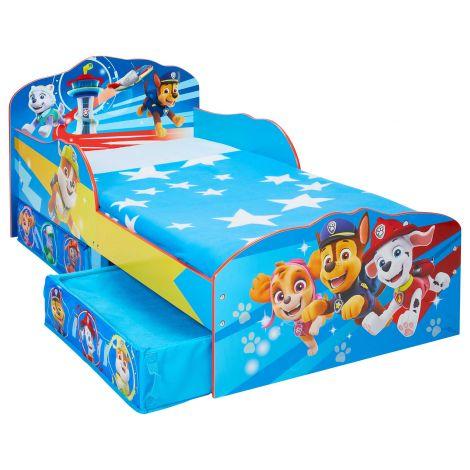 Bett für Kleinkinder mit Schubladen Paw Patrol