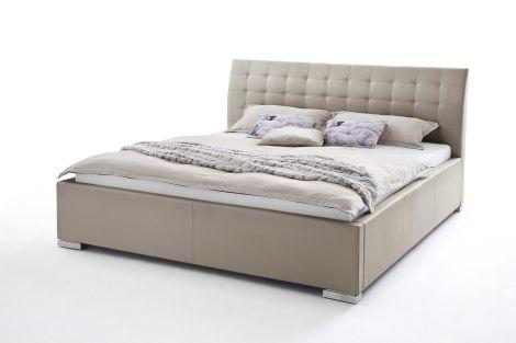 Bett Isa Comfort 180x200cm – taupe