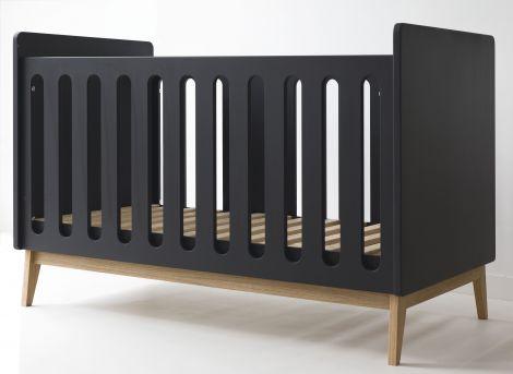 Babybett Pure 60x120 - schwarz