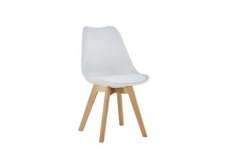 Satz von 4 Stühlen Malmo - weiß