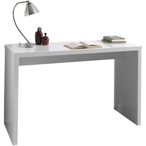 Seitentisch Arno 120 cm - Hochglanz weiß