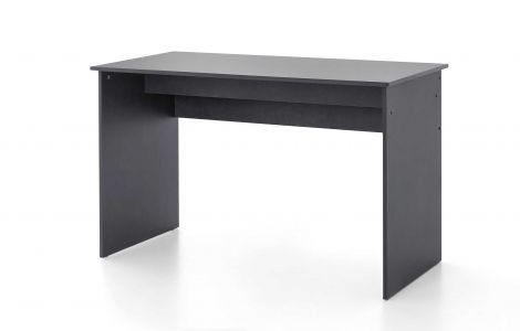 Serie Maxi-Office, Schreibtisch 125 x 60 cm - Graphit Dekor
