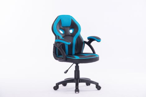 Bürostuhl Kidz - blau/schwarz