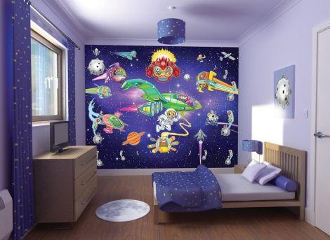 Wandbild Aliens