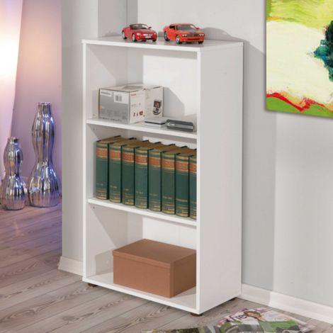 Bücherregal Parini 3 Fächer - weiß