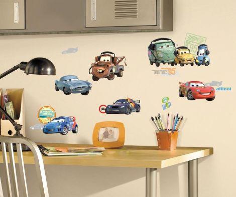 Roommates Wandtattoo - Cars 2