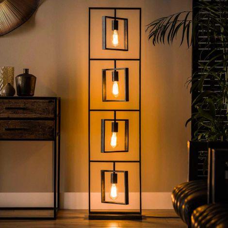 Stehleuchte Turner 4 Lampen - anthrazit