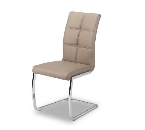 Set mit 2 Stühlen Eva - braun