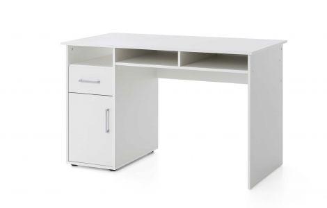 Schreibtisch Maxi-office 125cm - weiß