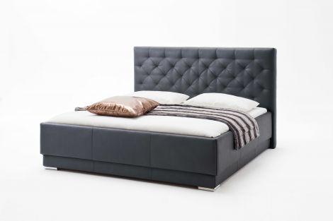Bett Pisa 160x200cm - schwarz