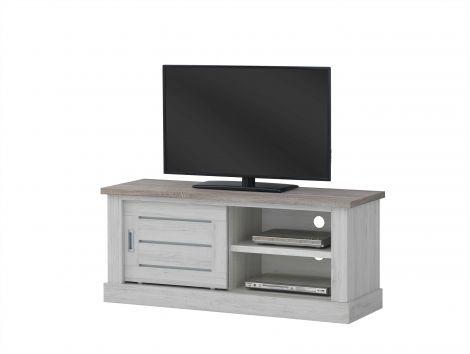 TV-Schrank Eva 132cm - grau