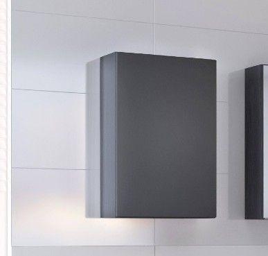 Hängeschrank Brama/Kornel/Pisca 40cm 1 Tür - graphit/mattgrau