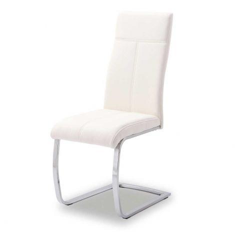 Satz von 2 Stühlen Elio - weiß