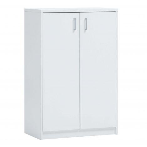 Kommode Spacio 2 Türen H 110cm - weiß