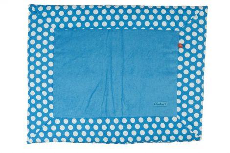 Boxstoff Punkte 75x95 - blau