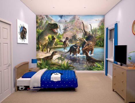 Tapete Dinosaurier
