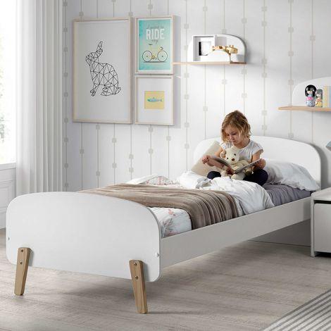 Kinderbett Kiddy - weiß