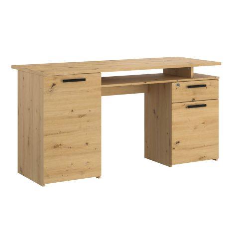 Schreibtisch Minister 150cm - Eiche